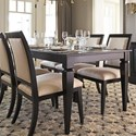 Canadel Custom Dining Customizable Rectangular Dining Table - Item Number: TRE038801818MPBDF