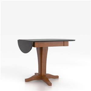 Canadel Custom Dining Counter Height Tables Customizable Drop Leaf Counter Table