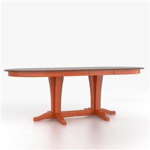 Canadel Custom Dining Counter Height Tables Customizable Oval Counter Table
