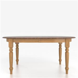 Canadel Custom Dining Tables <b>Customizable</b> Oval Table with Legs
