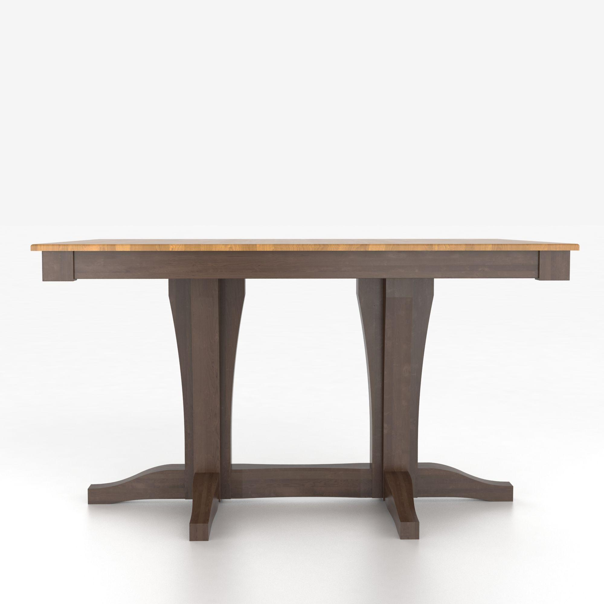 Canadel custom dining tables tre036680129mxkdf for John v schultz dining room table