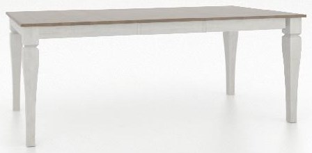 Custom Dining Counter Height Tables Customizable Rectangular Counter Table by Canadel at Johnny Janosik