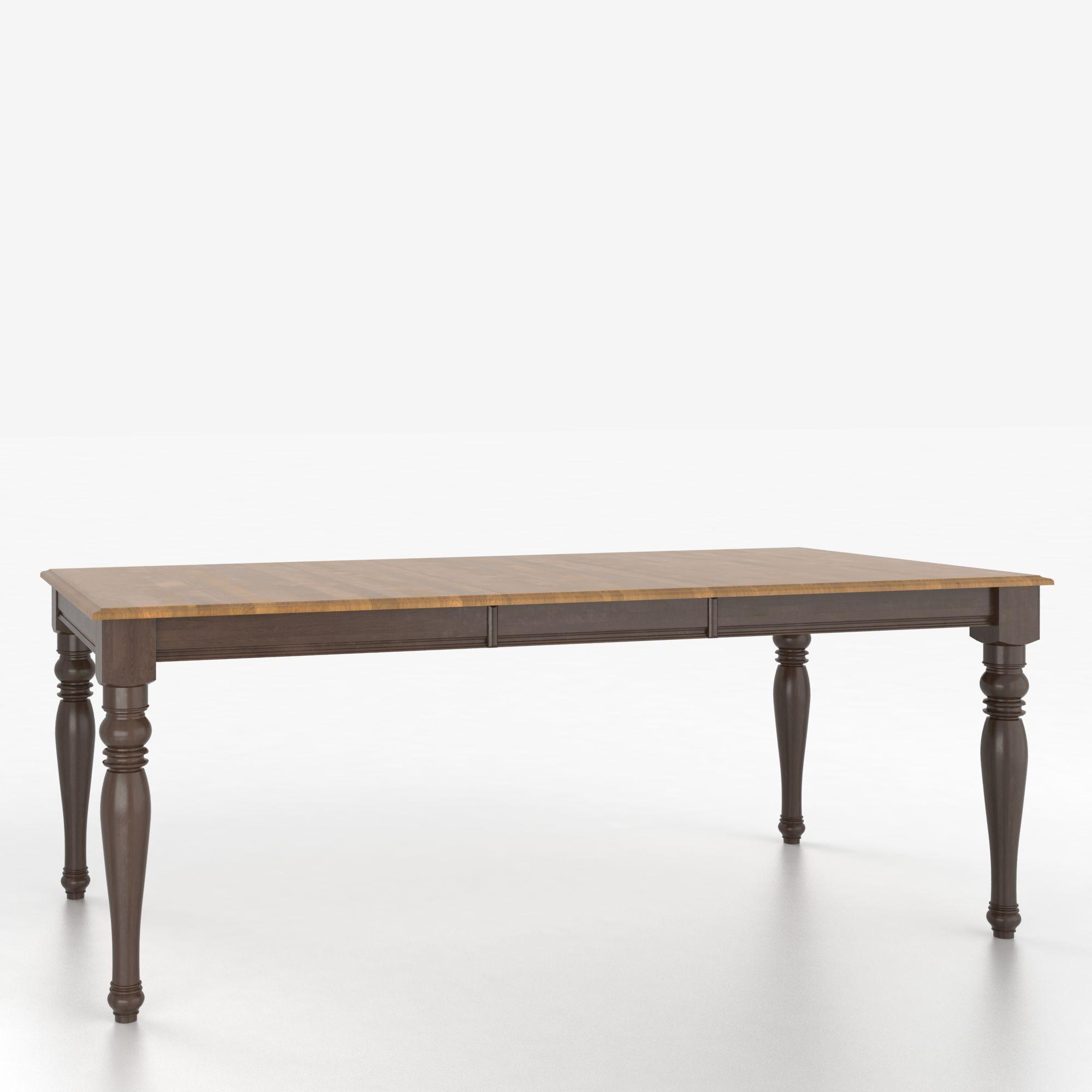 Canadel custom dining tables tre038680129mtda1 for John v schultz dining room table