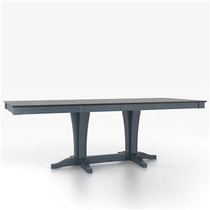 Canadel Custom Dining Counter Height Tables Customizable Rectangular Counter Table