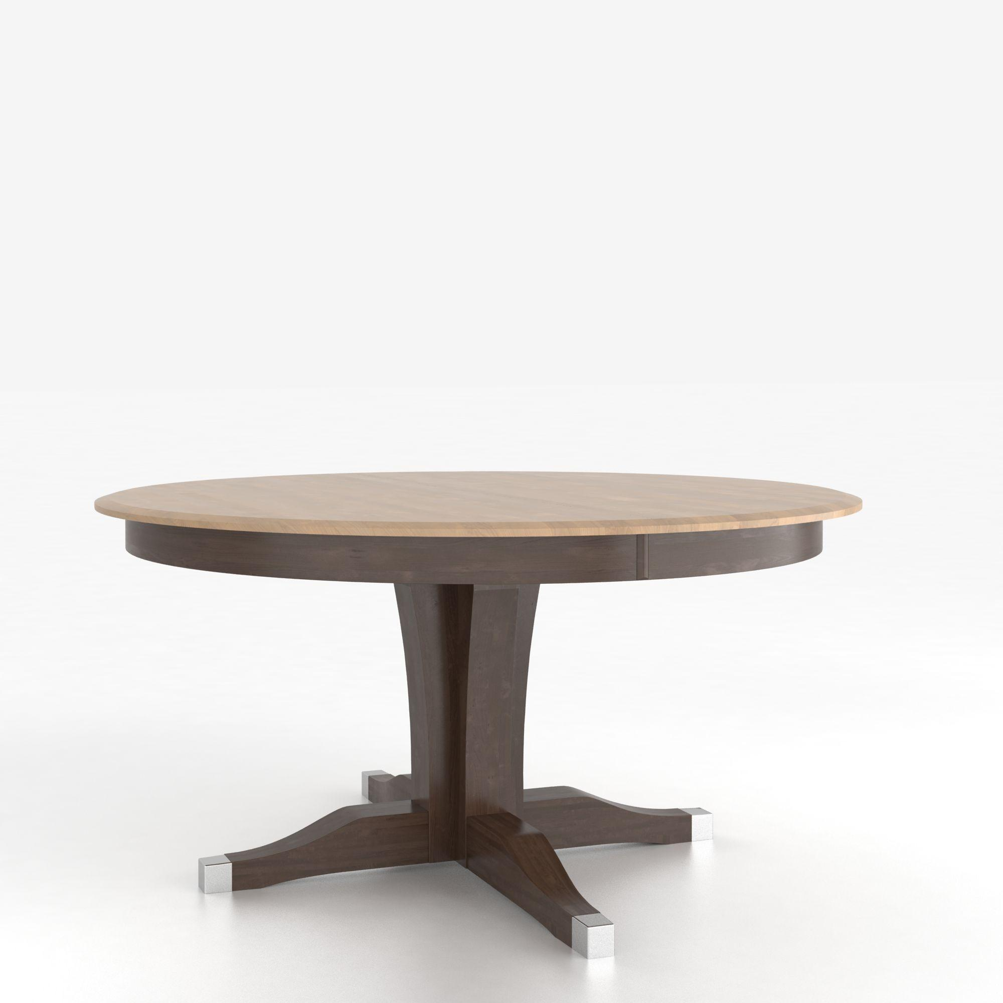 Canadel Custom Dining Tables Trn060602029mxabf Customizable Round Table With Pedestal Dunk