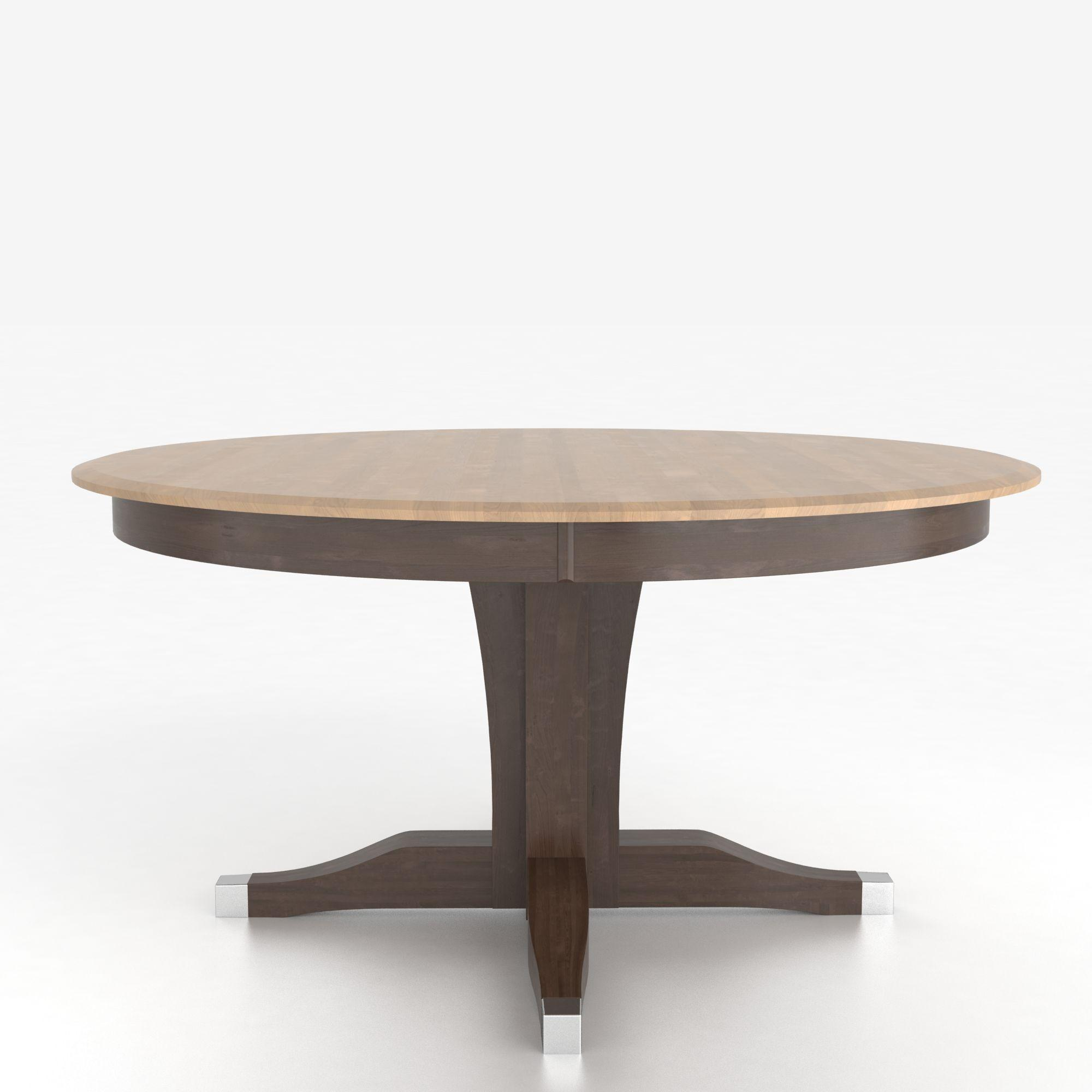 Custom Dining Room Table: Canadel Custom Dining Tables Customizable Round Table With