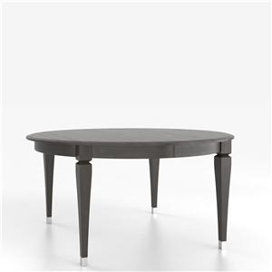 Canadel Custom Dining Tables <b>Customizable</b> Round Table with Legs