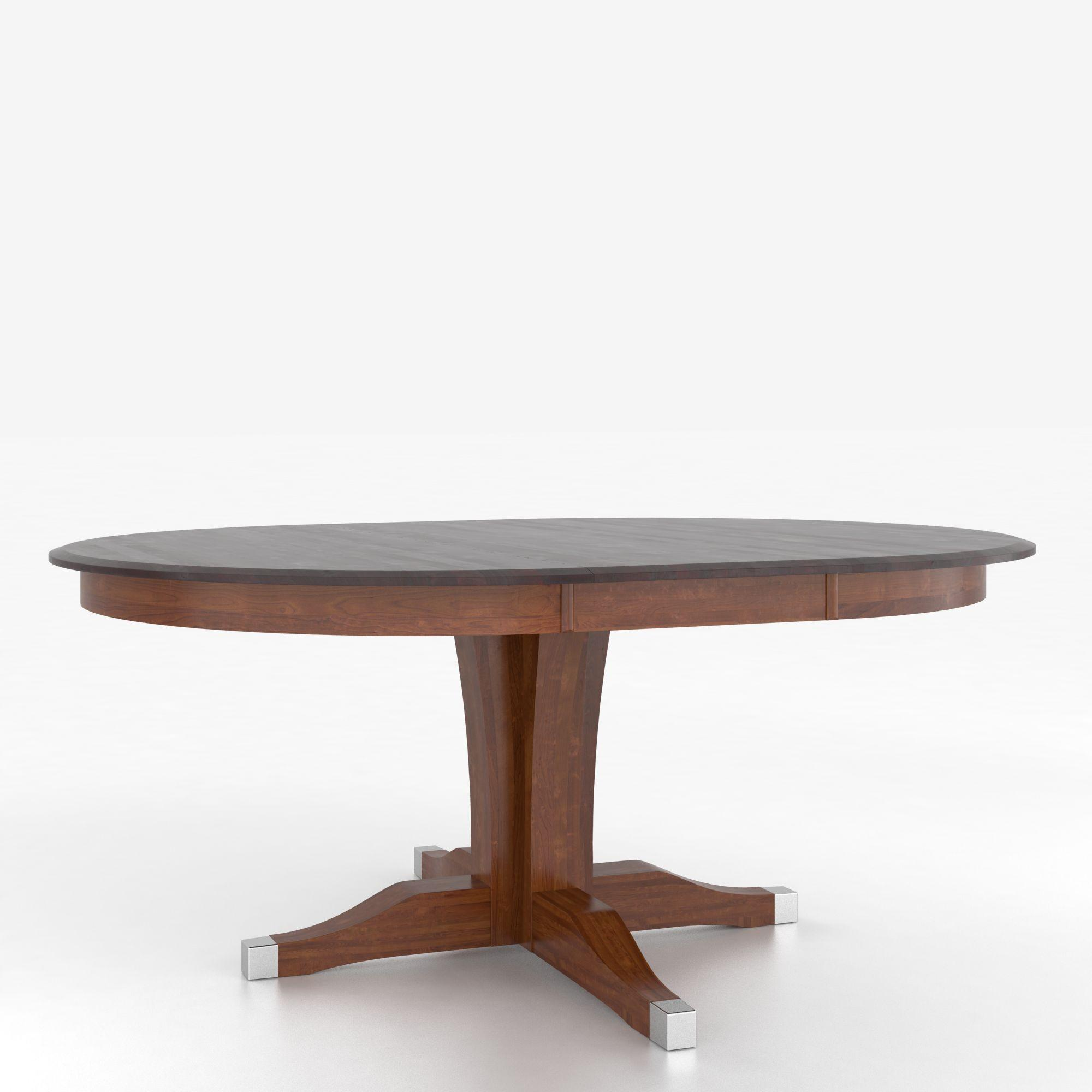Canadel Custom Dining Tables Customizable Round Table With Pedestal Belfort Furniture Dining