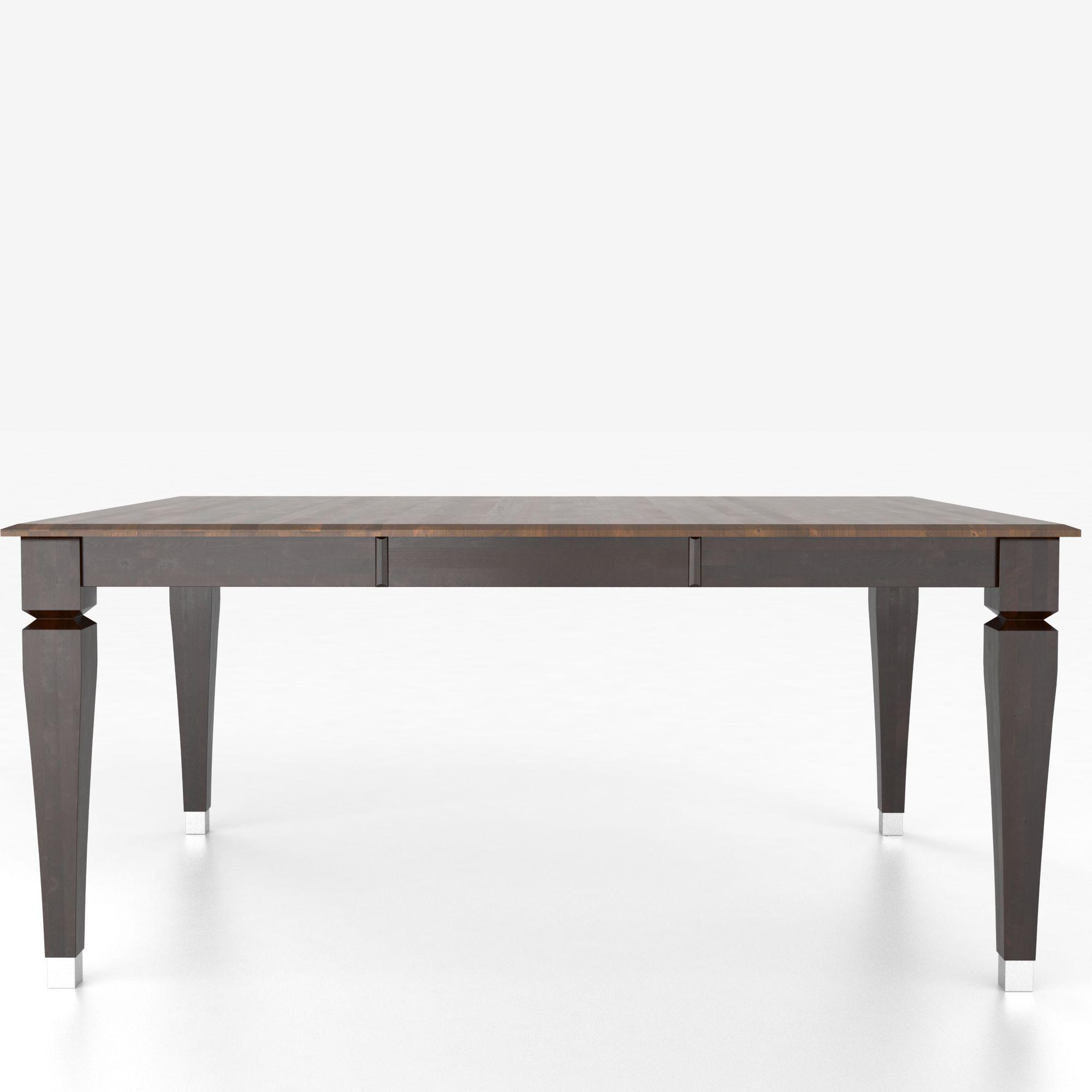 Canadel Custom Dining Tables Customizable Square Table With Legs Belfort Furniture Dining Tables