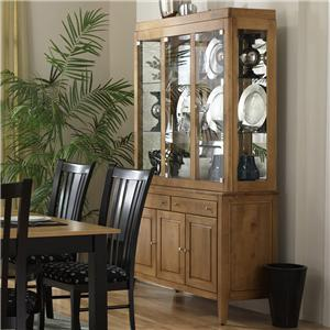 "Canadel Custom Dining - Contemporary <b>Customizable</b> 48"" Buffet & Hutch"