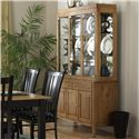 "Canadel Custom Dining - Contemporary <b>Customizable</b> 48"" Buffet & Hutch - Item Number: BUF 0-4800-0101-M-MM+HUT"