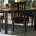 Canadel Custom Dining - Contemporary <b>Customizable</b> Upholstered Armchair - Item Number: CHA 0-0351-BI05-M-NA-WA