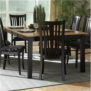 Canadel Custom Dining - Contemporary <b>Customizable</b> Rectangular Table