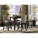 Canadel Custom Dining - High Dining Customizable Rectangular Counter Height Table - Shown with Bar Stools