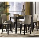 Canadel Custom Dining - High Dining Customizable 5 Piece Rectangular Counter Height Table Set