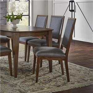 Canadel Pecan Washed Sunbrella Dining Chair