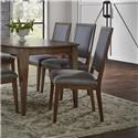 Canadel Pecan Washed Sunbrella Dining Chair - Item Number: 515117826