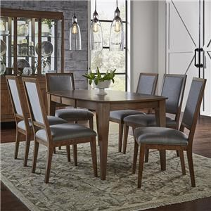 Canadel Pecan Washed Dining Set