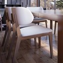 Canadel Downtown - Custom Dining Customizable Side Chair - Item Number: CHA05147ZB03MNA