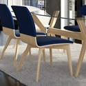 Canadel Downtown - Custom Dining Customizable Dining Side Chair - Item Number: CHA05142TK02MNA