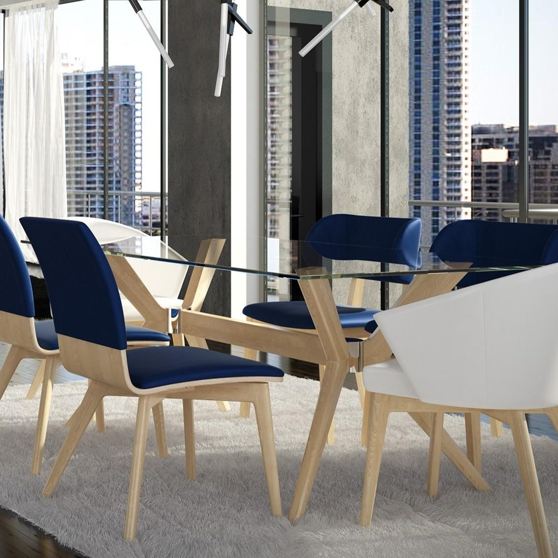 custom dining room tables   Canadel Downtown - Custom Dining Contemporary Customizable ...