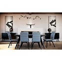 Canadel Downtown - Custom Dining Casual Dining Room Group - Item Number: Set 4 Dining Room Group 1