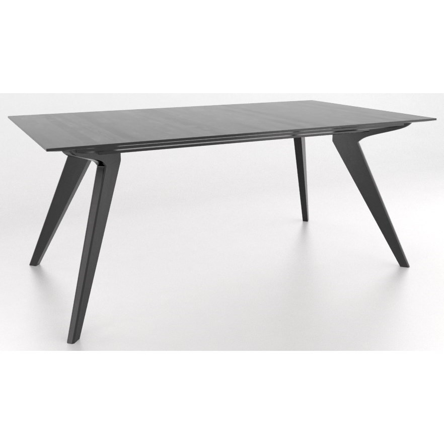 Canadel downtown custom dining contemporary customizable for John v schultz dining room table