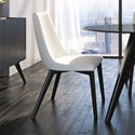 Canadel Downtown - Custom Dining Customizable Side Chair - Item Number: CNN05141TU05MNA