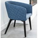 Canadel Downtown - Custom Dining Customizable Quilted Dining Chair - Item Number: CNF05138TK05MNAA