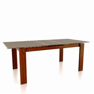 Customizable Glass Top Rectangular Table