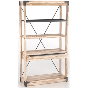 Canadel East Side Customizable Bookcase