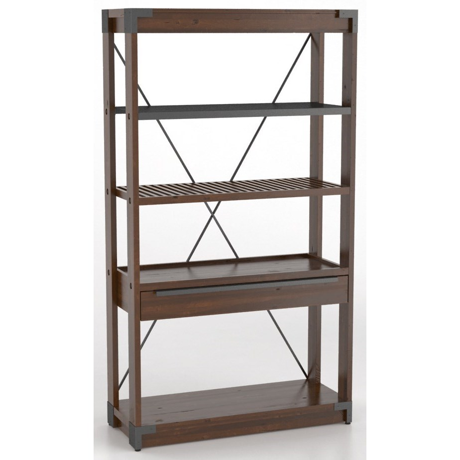Customizable Wooden Bookcase