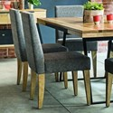 Canadel East Side Customizable Dining Side Chair - Item Number: CHA090417E02ENA