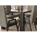 Canadel East Side Customizable Dining Table - Item Number: GRE04072CL63EEBNF