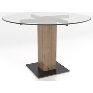 Canadel East Side Customizable Round Table