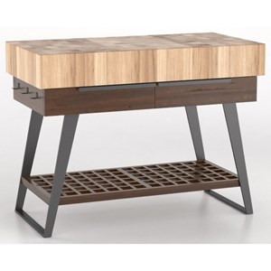 Canadel East Side Customizable Kitchen Island