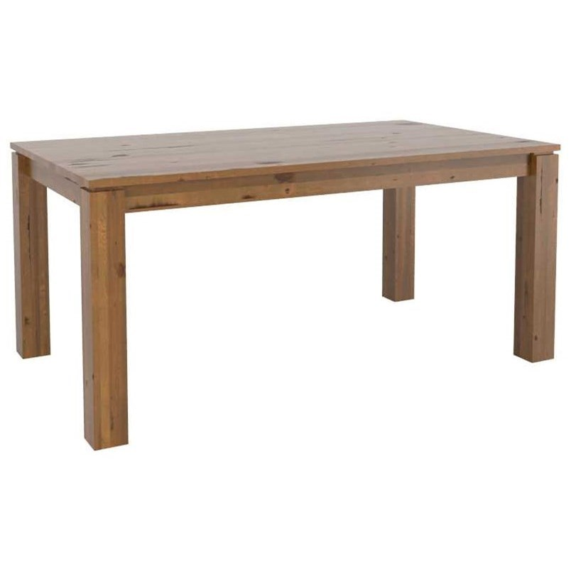 Customizable Wood Top Dining Table