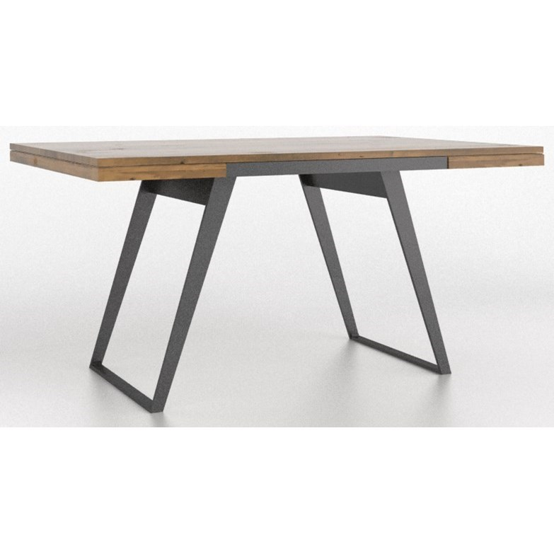 East Side Customizable Dining Table with Wood Top by Canadel at Dinette Depot