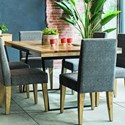 Canadel East Side Customizable Dining Table - Item Number: TRE040720202EEQNF