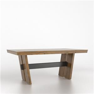 Canadel East Side Wood Top Table