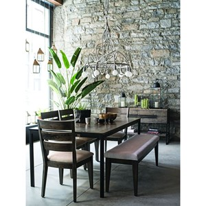 Canadel East Side Dining Table Set