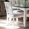 Canadel Farmhouse Chic Customizable Dining Side Chair - Item Number: CNN05158JF80AFB