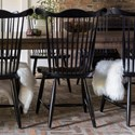Canadel Farmhouse Chic Customizable Side Chair - Item Number: CNN051620505ANA