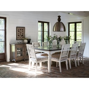 Farmhouse Chic Set 1 By Canadel Belfort Furniture Canadel Farmhouse Chic Dealer
