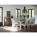 Canadel Farmhouse Chic Dining Room Group - Item Number: Set 1 Dining Room Group