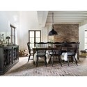 Canadel Farmhouse Chic Dining Room Group - Item Number: Set 3 Dining Room Group