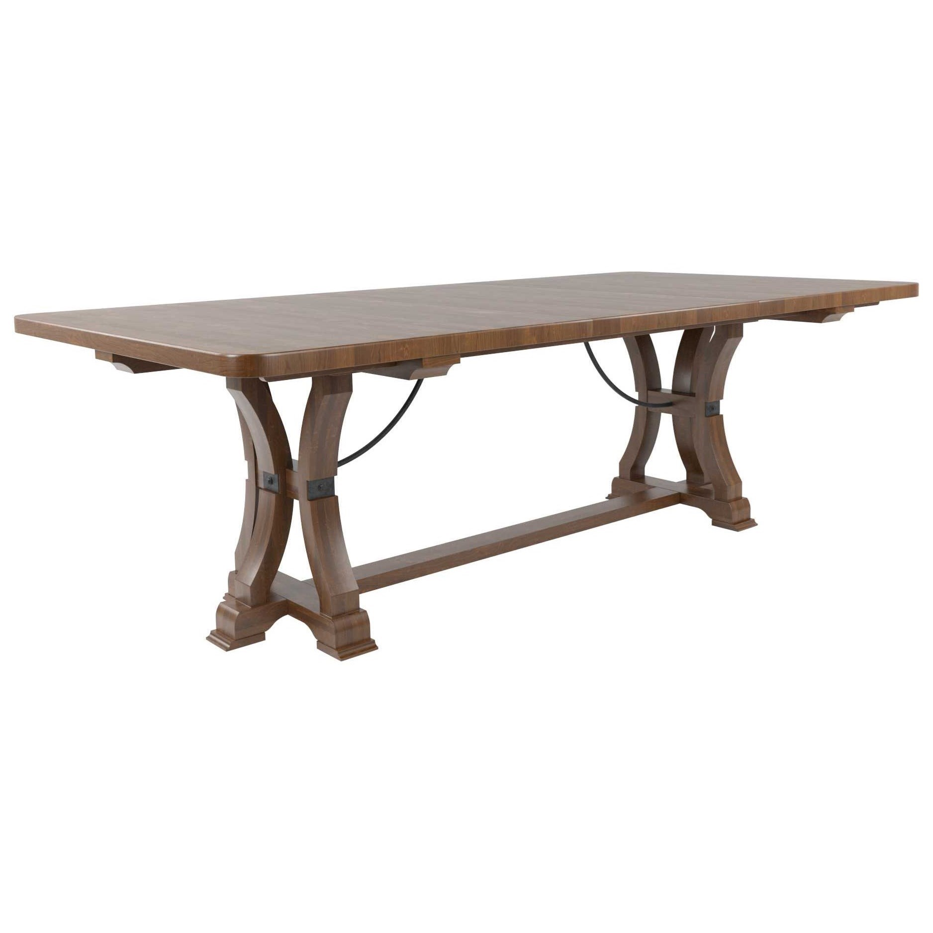 Farmhouse Chic Customizable Dining Table by Canadel at Dinette Depot