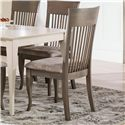 Canadel Gourmet - Custom Dining <b>Customizable</b> Upholstered Side Chair - Item Number: CHA09006UJ49MVC