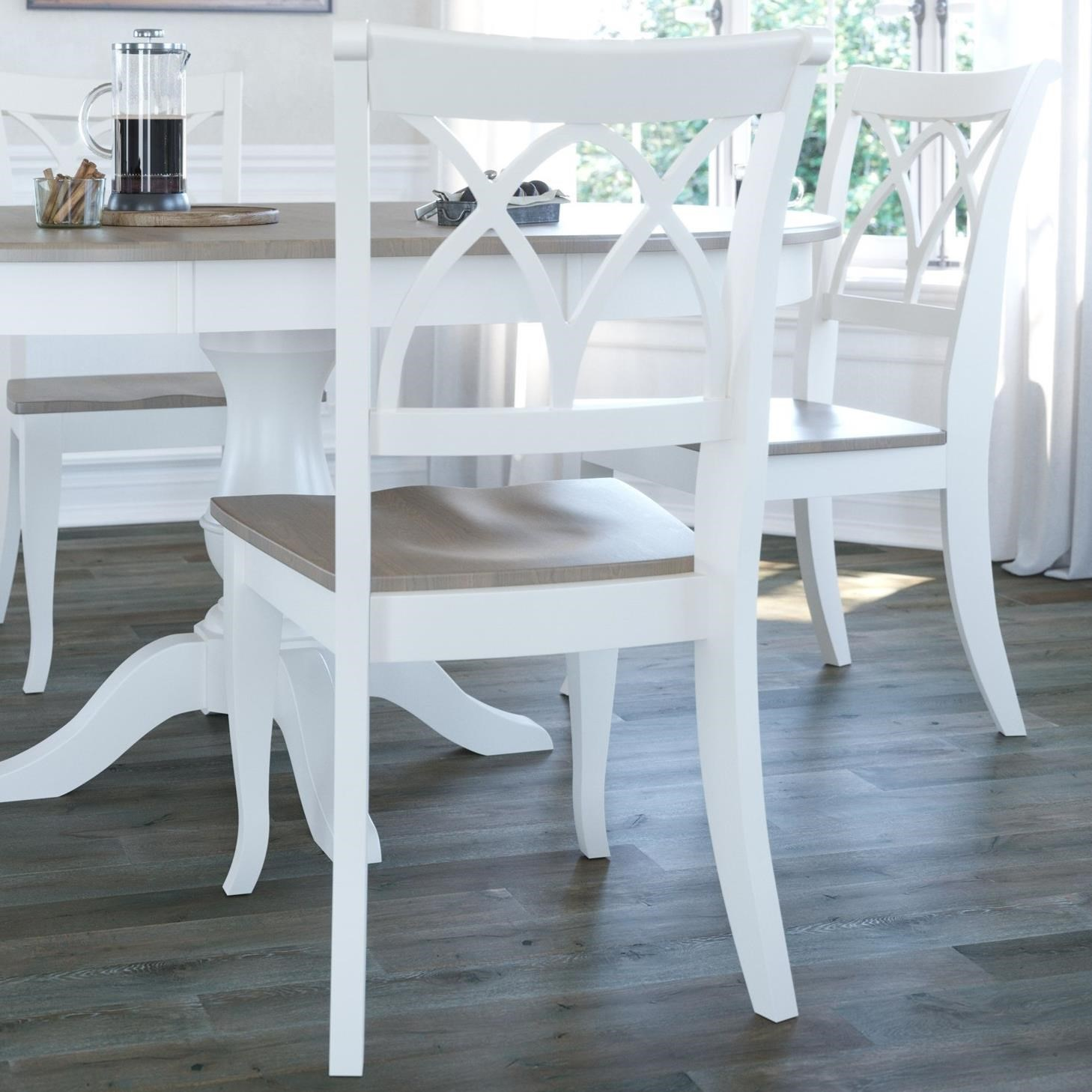 Gourmet - Custom Dining Customizable Dining Chair by Canadel at Dinette Depot