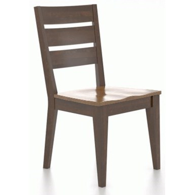 Customizable Chair with Ladder Back